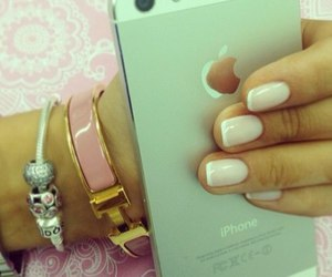 bracelets, pink, and iphone image