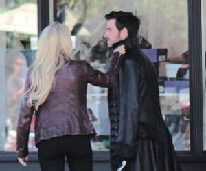 once upon a time, captain swan, and season 4 image