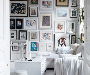 room, wall, and white image