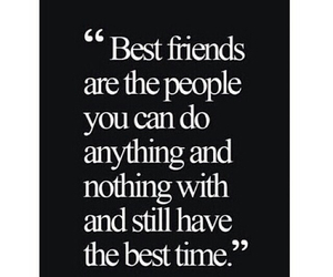 best friends, quote, and buddy image