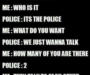 funny, police, and teenagers image