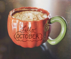 autumn, fall, and mug image