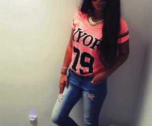 fashion, pink, and newyork image