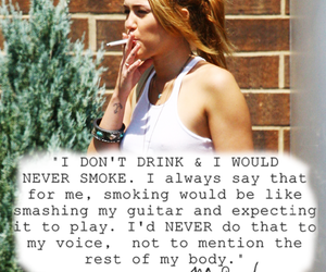 miley cyrus, lol, and smoke image