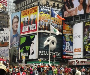 broadway, daniel radcliffe, and new york city image