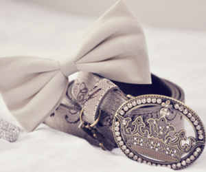 bow, belt, and accessories image