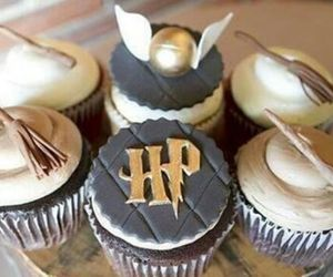 cupcake and harry potter image