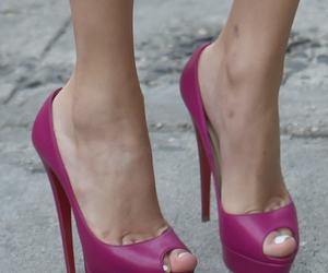 heels, purple, and Taylor Swift image