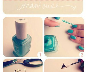 blue, pretty, and diy image