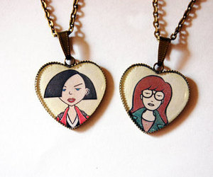 Daria, jane, and necklace image