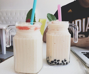 asian, boba, and drink image