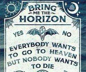 bring me the horizon, bmth, and heaven image