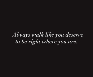quotes, text, and walk image