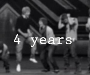 one direction, 1d, and 4 years image