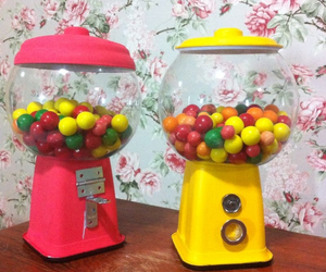 blogger, candy machine, and cute image
