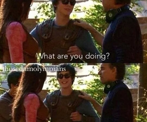funny, percy jackson, and mortals image