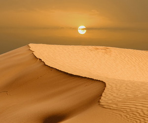 sun, nature, and desert image