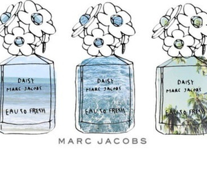 marc jacobs, daisy, and flowers image