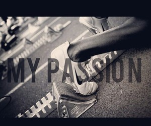 run, mypassion, and track image