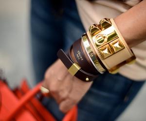 fashion, celine, and bracelet image