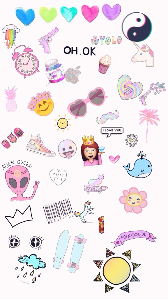 Overly Overlays Cute Wallpaper Girl On We Heart It