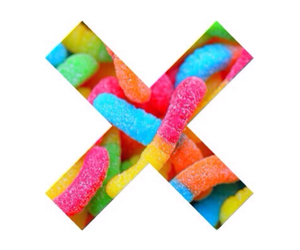 overlay, candy, and gummy worms image