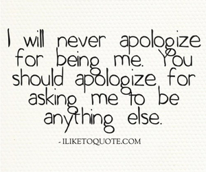 apologize, quotes, and love image