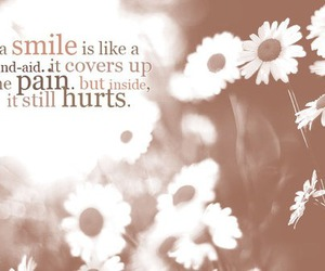 smile and pain image