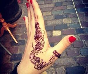 tattoo, henna, and art image