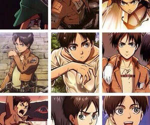 anime, jaeger, and eren image
