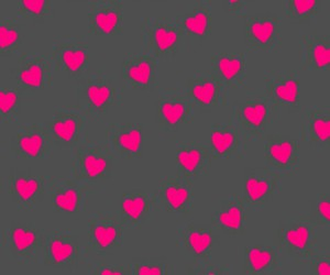 pink, wallpaper, and hearts image