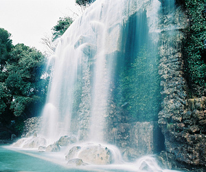 photography, waterfall, and nature image