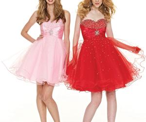 evening dress, girls dresses, and prom dresses image