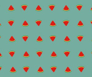 watermelon, cute, and background image