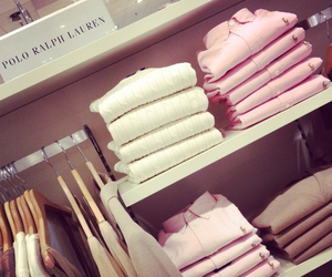 fashion, pink, and ralph lauren image