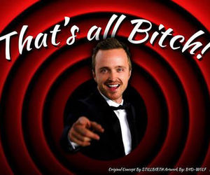 breaking bad, aaron paul, and bitch image