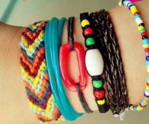 beauty, bracelet, and colorful image