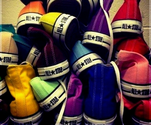 all star, chaussure, and shoes image