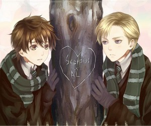 al, albus potter, and harry potter image