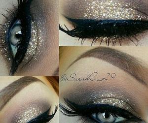 beauty, make up, and eyeliner image