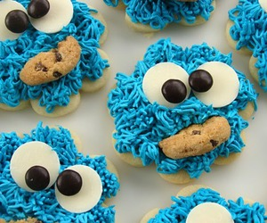 blue, Cookies, and cookie image