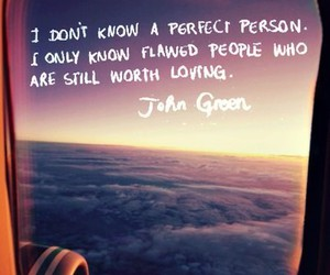 john green, quote, and flaws image