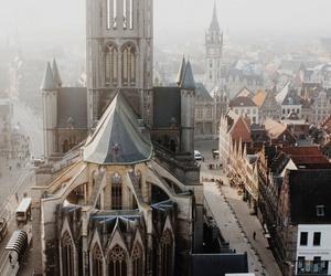 city, belgium, and architecture image