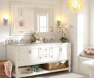 bath, bathroom, and countryside image