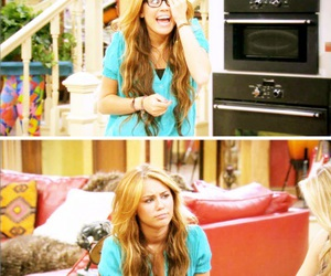 caps, miley stewart, and hannah montana forever image