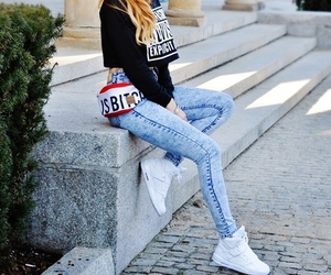 fashion, girl, and shoes image