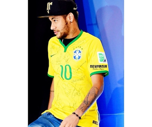 neymar jr, soccer, and world cup image