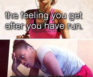 funny, run, and running image