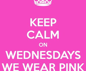 pink and wednesday image