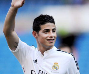 real madrid, james rodriguez, and football image
